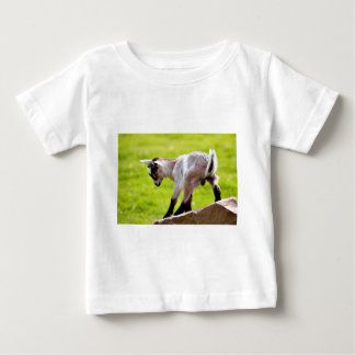 Kid on rock baby T-Shirt