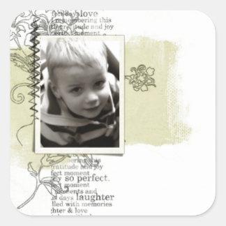 Kid Photo sticker