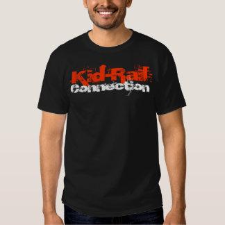 Kid-Rail Connection T-Shirt Train Wreck Version