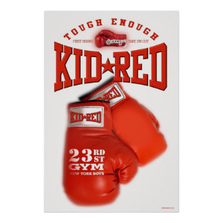 Kid Reds Gym Poster
