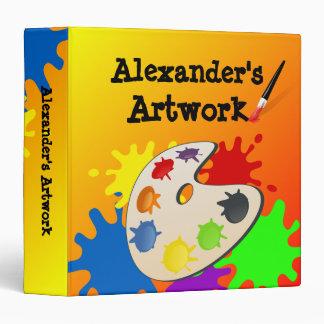 Kid s Artwork Binder