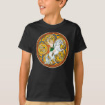 Kid's Celtic T-Shirts, Celtic Warrior Lugh T-Shirt