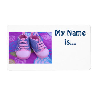 Kid s Name Tags My Name is Baby Toddler Shoes Labels