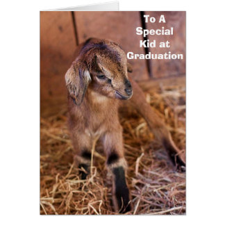 "KID SAYS ""TO A SPECIAL KID AT GRADUATION""T CARD"