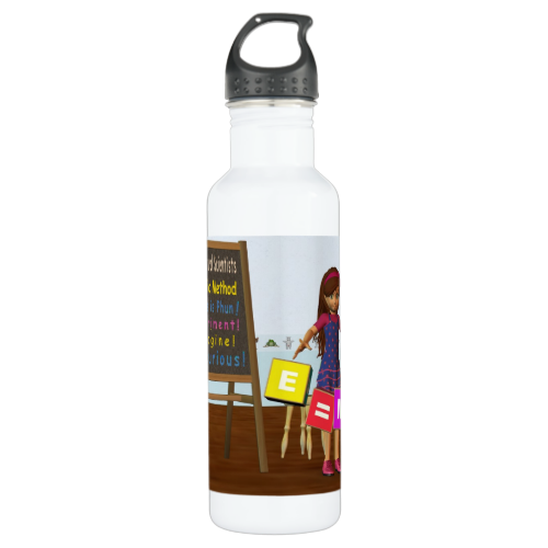 Kid Scientist 24oz Water Bottle