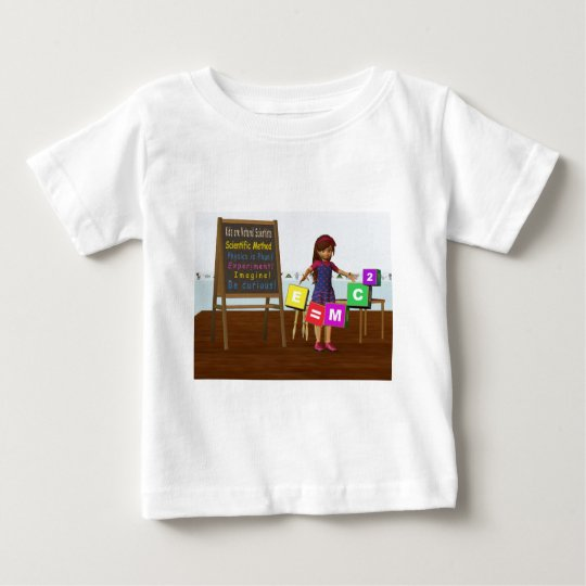 Kid Scientist Baby T-Shirt