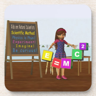 Kid Scientist Drink Coaster