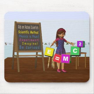 Kid Scientist Mouse Pad