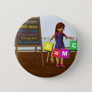 Kid Scientist Pinback Button