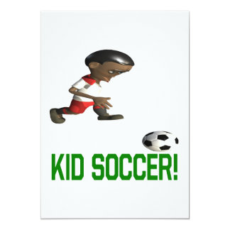Kid Soccer Card