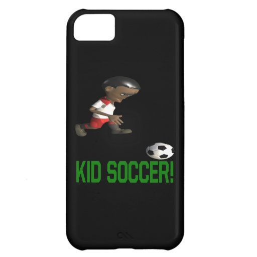 Kid Soccer iPhone 5C Covers