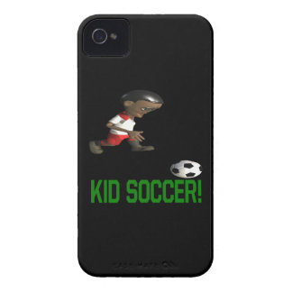 Kid Soccer iPhone 4 Case-Mate Cases