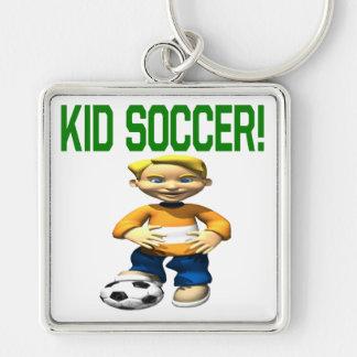 Kid Soccer Keychain