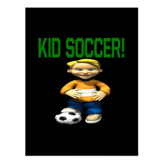 Kid Soccer Post Cards