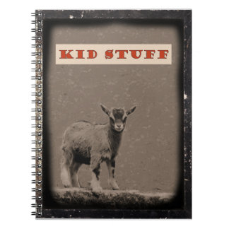 Kid Stuff Baby Goat Daguerreotype Notebook