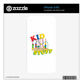 Kid Stuff Decals For The iPhone 4