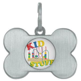 Kid Stuff Pet Name Tag