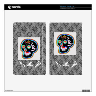 KID Stuff : Smiling Ghost n Friendly Frog Kindle Fire Decals