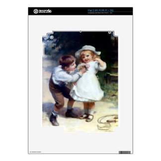 Kid Sweethearts painting Decal For The iPad 2
