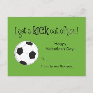 Kid Valentine's Day Card - Soccer Love