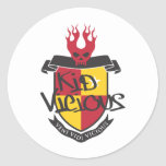 Kid Vicious Merch Rocks Stickers