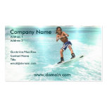 Kid Wakeboarding Business Card