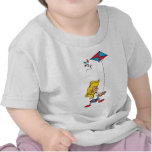 Kid With a Kite T-shirt