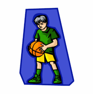 Kid with Ball Photo Cutouts