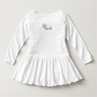 Kid, You'll Move Mountains Girls White Dress