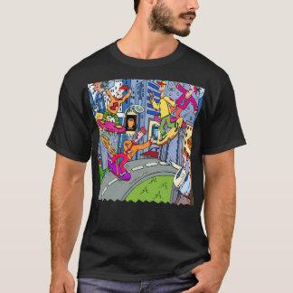 Kid Zazzle Skateboard T-Shirt
