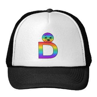Kidbet Letter D Hats