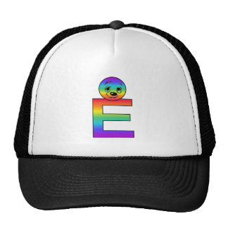 Kidbet Letter E Mesh Hat