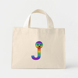 Kidbet Letter J Tote Bags