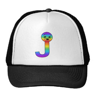 Kidbet Letter J Mesh Hat