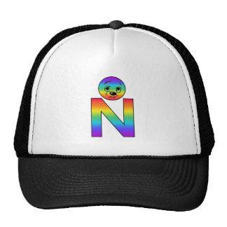 Kidbet Letter N Trucker Hats