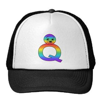 Kidbet Letter Q Trucker Hats