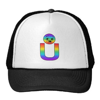 Kidbet Letter U Trucker Hats