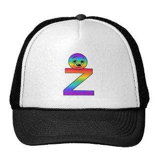 Kidbet Letter Z Trucker Hats