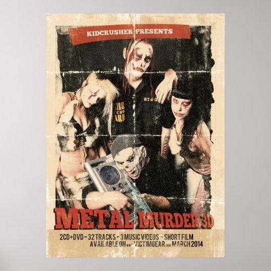 KidCrusher - MM3D Grindhouse Poster