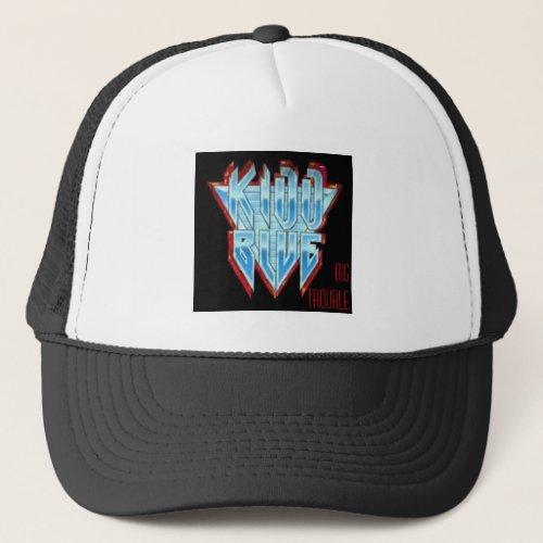 kidd blue trucker hat