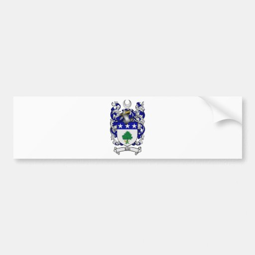 KIDD FAMILY CREST -  KIDD COAT OF ARMS BUMPER STICKERS