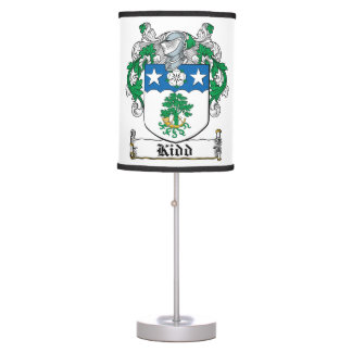 Kidd Family Crest Table Lamps