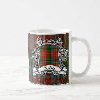Kidd Tartan Shield Coffee Mug