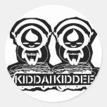 Kiddai Kiddee Etiquetas Redondas