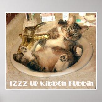 Kidden Puddin print