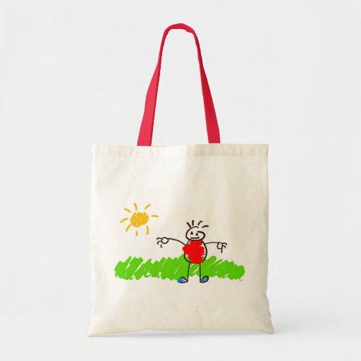 Kiddie Art Tote Bags