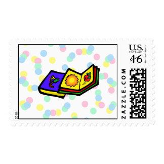 Kiddie Books Postage Stamps