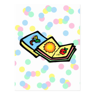 Kiddie Books Postcard