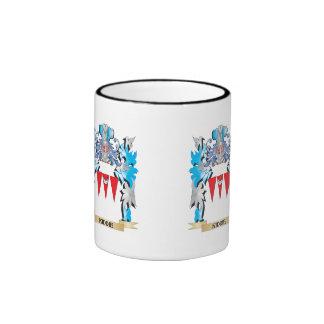 Kiddie Coat of Arms - Family Crest Ringer Coffee Mug