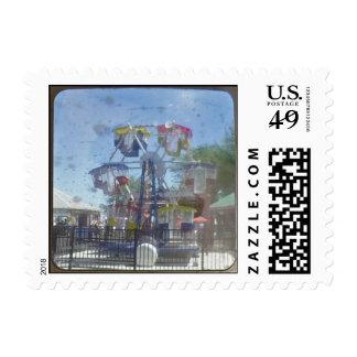 Kiddie Ferris Wheel ride TTV Stamp